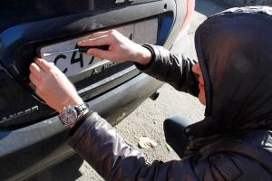 Что делать, если украли автомобильный номер?