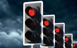 Какой штраф за проезд на красный свет