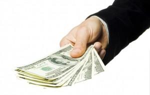 Долговая расписка в получении денежных средств