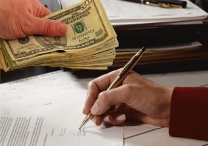 Пример расписки о получении денежных средств