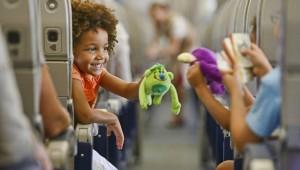 Дети на самолете без сопровождения