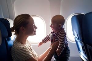 Дети на самолете без сопровождения взрослых