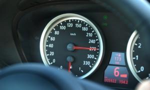 Размер штрафа за превышение скорости