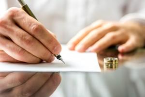 Образец заявления о расторжения брака через суд