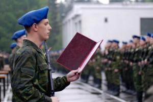 Несение военной службы в РФ в 2016 году