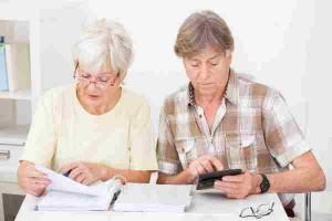 Взыскание алиментов с пенсионера