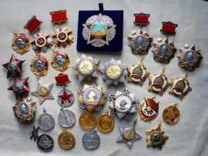 Правила наследования наград и медалей