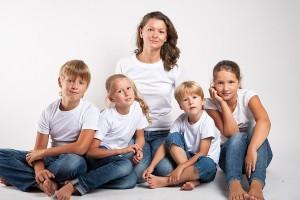 Выплата алиментов на 4 детей