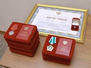 Правила наследования государственных наград в РФ
