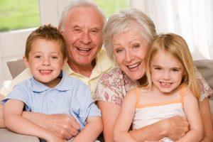 Как происходит наследование внуками?