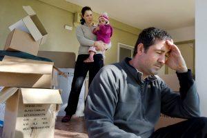 Как происходит раздел квартиры при разводе?