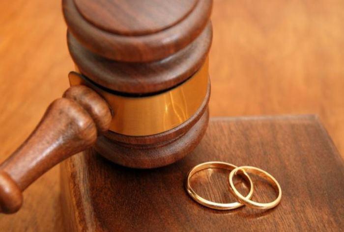 Какой размер госпошлины при расторжении брака?