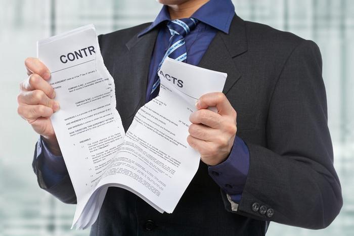 Причины для расторжения договора дарения