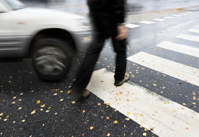 Пешеход попал в ДТП