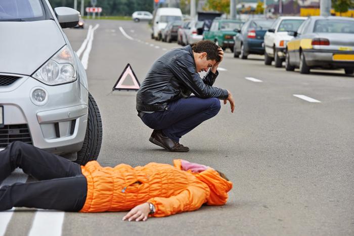 Вариант первый: пешеход виновен в ДТП