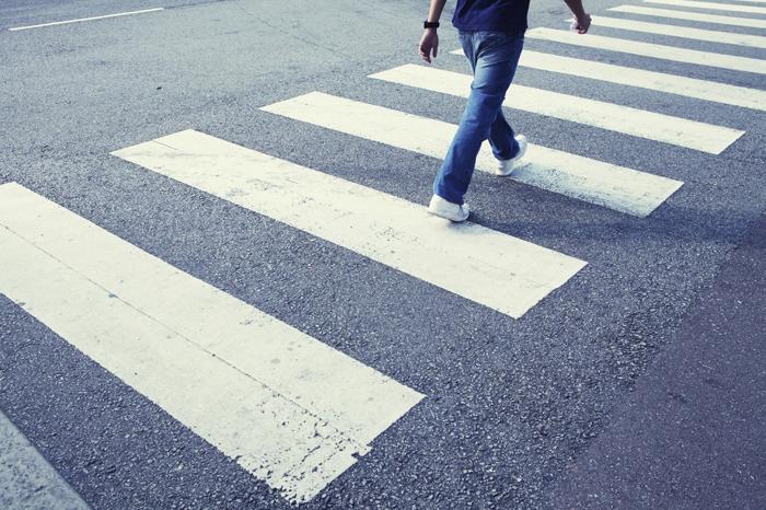 Вариант второй: пешеход не виновен в ДТП