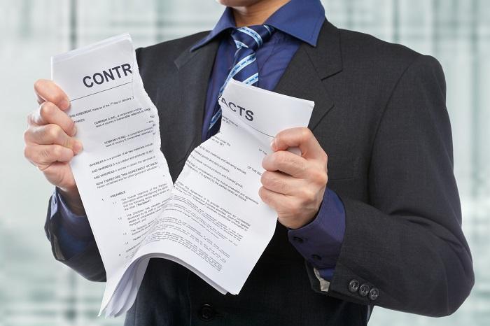 Прекращение договора по съему жилья