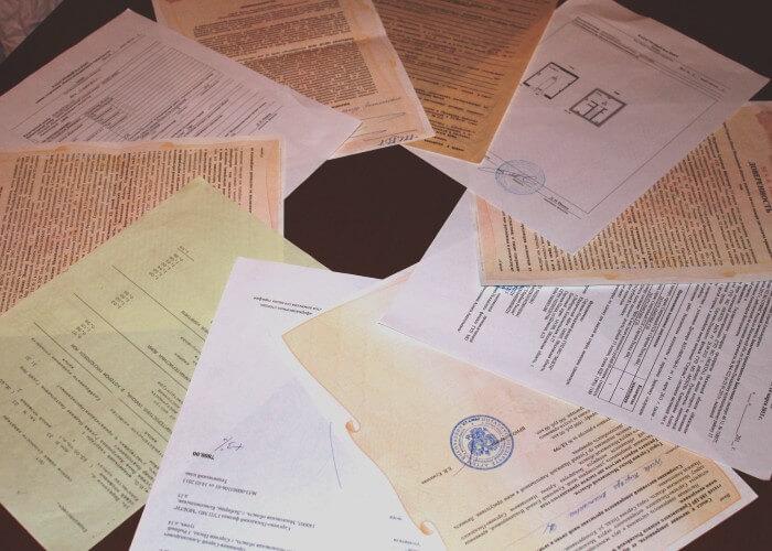Необходимые для оформления дарения документы