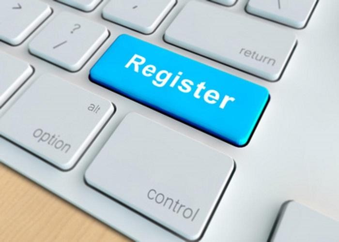 Регистрация по интернету