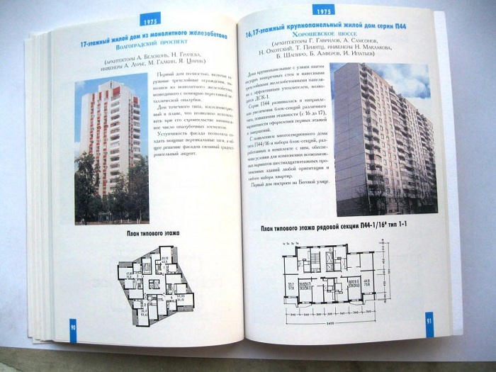 Типовой каталог перепланировок